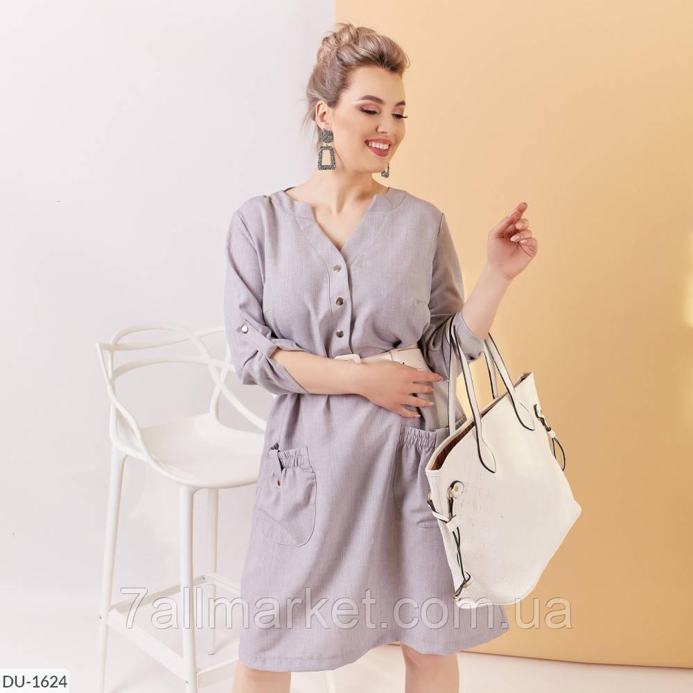 """Платье женское льняное мод: 4089 (48-50, 52-54, 56-58) """"ALISA"""" недорого от прямого поставщика"""