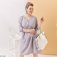 """Платье женское льняное мод: 4089 (48-50, 52-54, 56-58) """"ALISA"""" недорого от прямого поставщика, фото 1"""