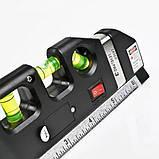 Лазерний рівень з вбудованою рулеткою LASER LEVELPRO3, фото 2