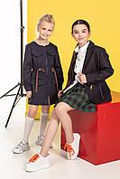 Школьное платье для девочек из натуральной ткани 110 PaMaranchi