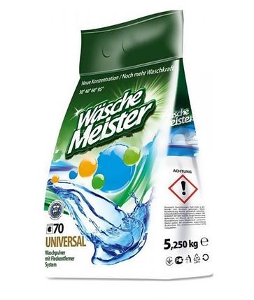 Пральний порошок універсальний Wasche Meister 5.25 кг, фото 2