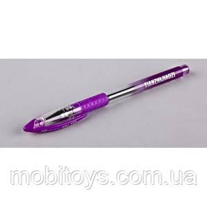 Ручка гелева NV-74012  0.5мм  фіолетовий 12 шт./уп ш.к.4820116736664