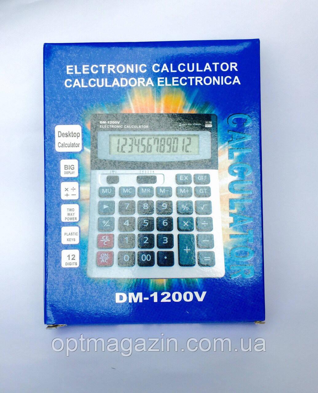 Настільний Калькулятор DM 1200V