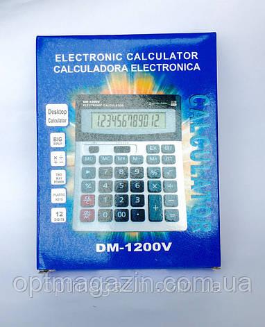 Настільний Калькулятор DM 1200V, фото 2