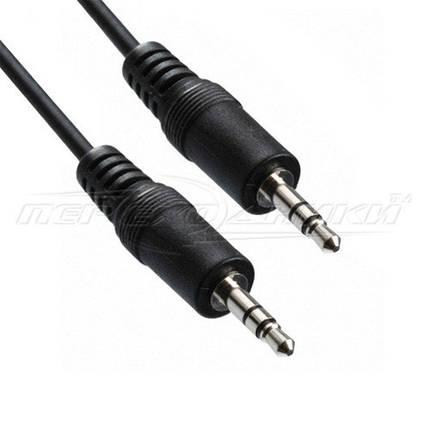 Аудио кабель AUX 3.5 mm jack в экране (эконом плюс качество), 15 м, фото 2