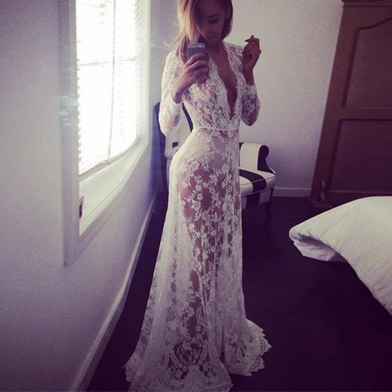 Кружевное платье!