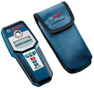 Металлоискатель Bosch Professional GMS 120 + чехол + ремень для ношения (0601081004)