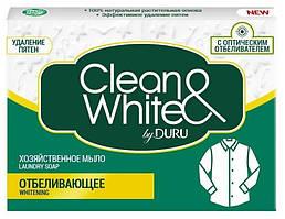 """Господарське мило Duru Clean&White """"Відбілюючий"""" (4*125г.)"""