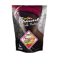 Протеин Power Pro Femine Protein, 1 кг Банан-земляника