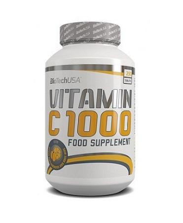 Витамины и минералы BioTech Vitamin C 1000, 250 таблеток