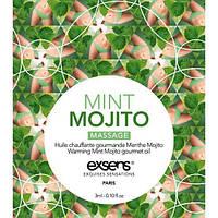 Пробник массажного масла EXSENS Mojito 3мл