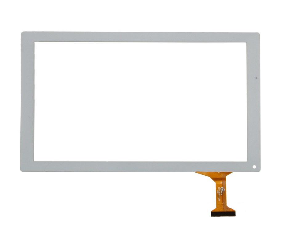 Сенсорный экран (тачскрин) для планшета Bravis NP101   Q100L (252x146мм), 50pin, белый #GT10PH10H,