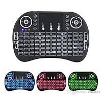 Клавиатура беспроводная Rii Mini i8 Backlit с подсветкой
