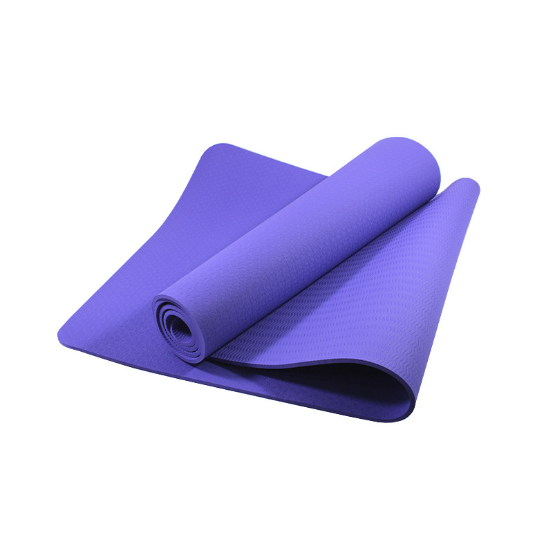 Коврик для фитнеса и йоги TPE Dobetters DBT-YG6 Purple каримат 1830*610*60 мм