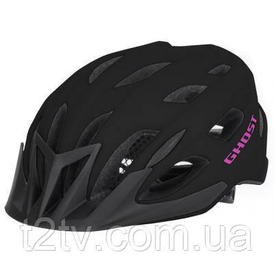 Шлем Ghost Classic 53-58 см Black/Pink (17067)