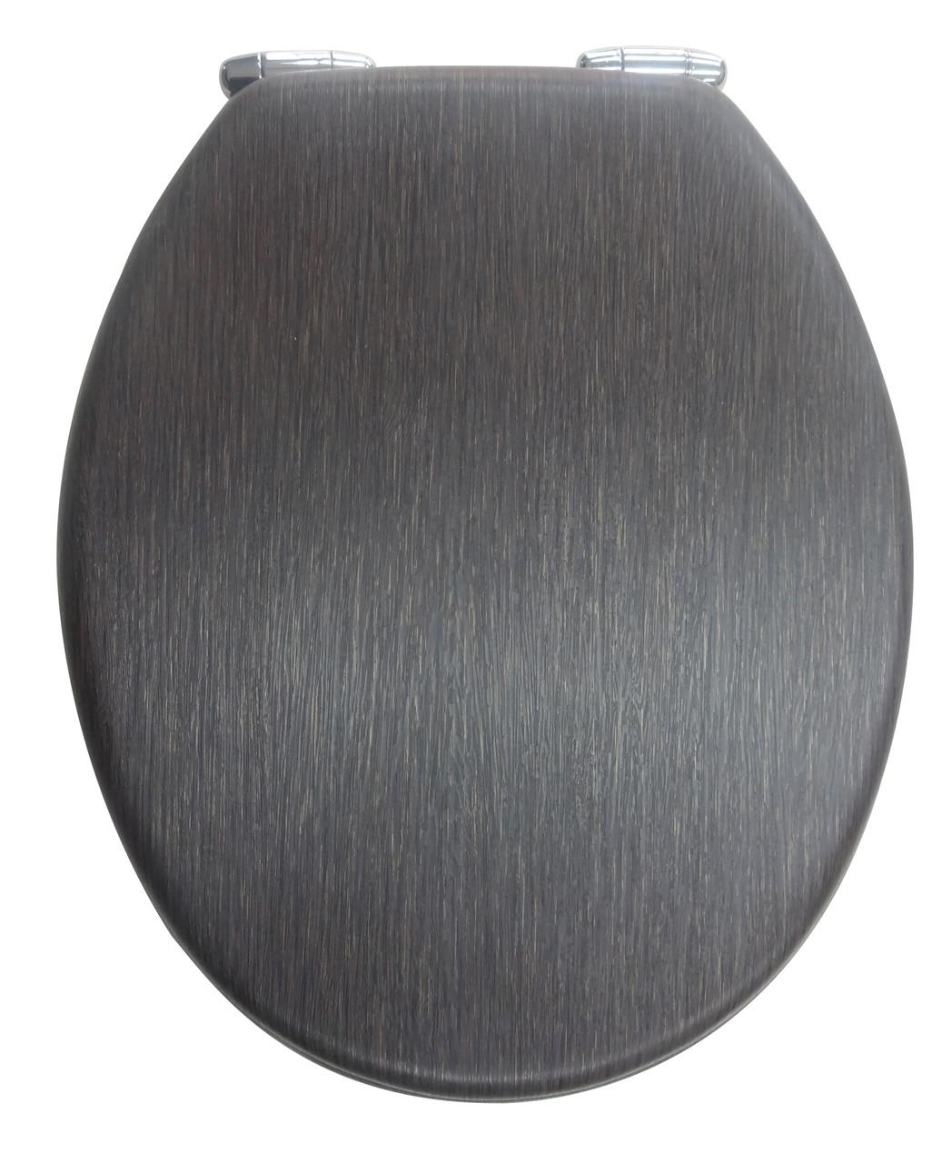 Крышка для унитаза темно коричневая с микролифтом Venge AWD02181098