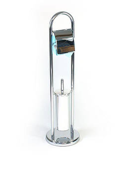 Стойка туалетная держатель туалетной бумаги и щетки AWD02070039