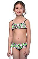 Раздельный польский купальник для девочки р-р 122,128,134,140,146