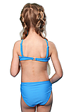 Раздельный польский купальник для девочки р-р 122,128,134,140,146, фото 4