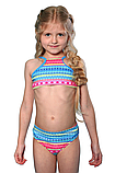 Раздельный польский купальник для девочки р-р 122,128,134,140,146, фото 2