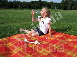 Коврик для пляжа и пикника оранжевый