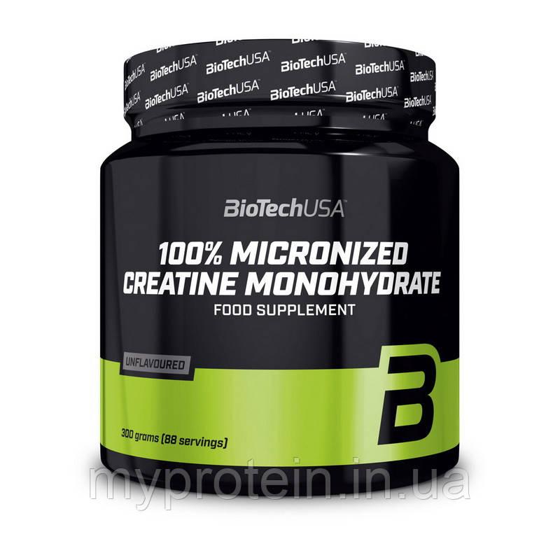 BioTech Креатин моногидрат 100% Creatine Monohydrate (300 g банка)