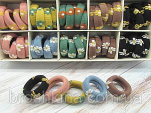 Резинки для волос Ø5 см плотные 50 шт. в картонной коробке