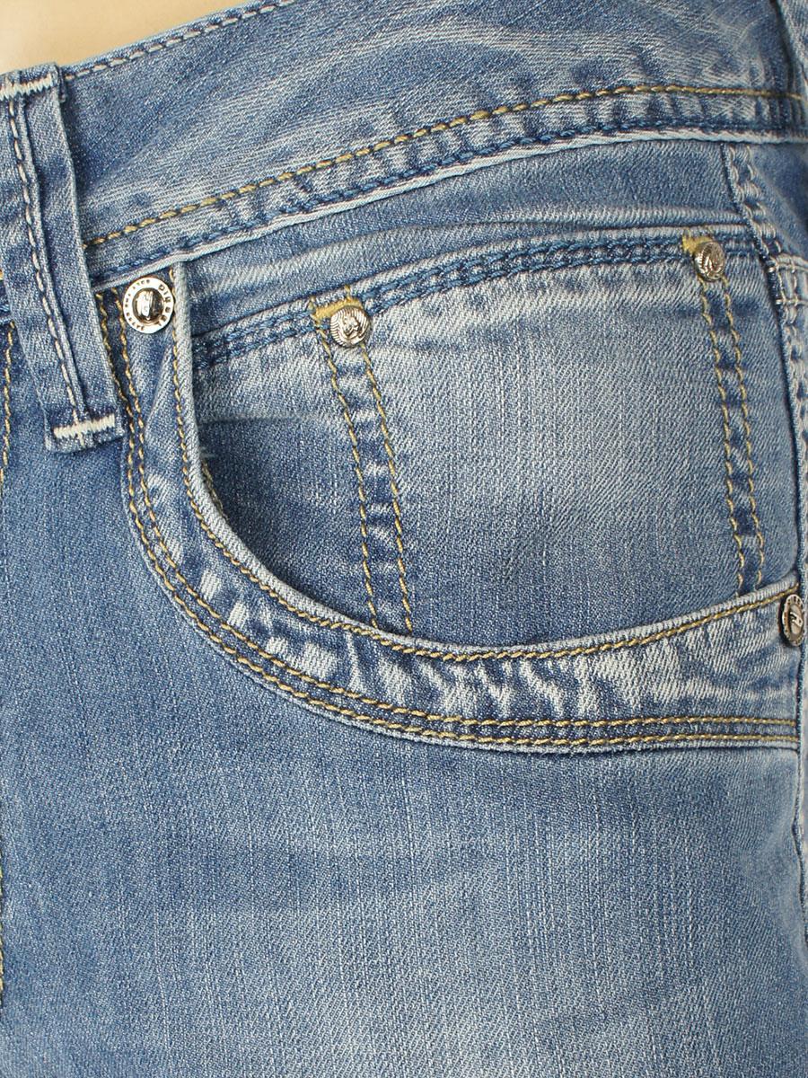 Стильні чоловічі джинси 719 синього кольору