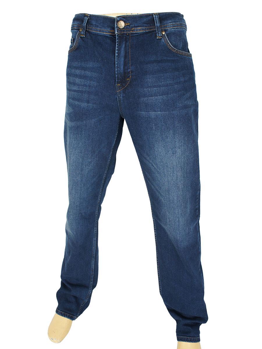Стильні чоловічі джинси Cen-cor CNC-1523 Blue темно-синього кольору
