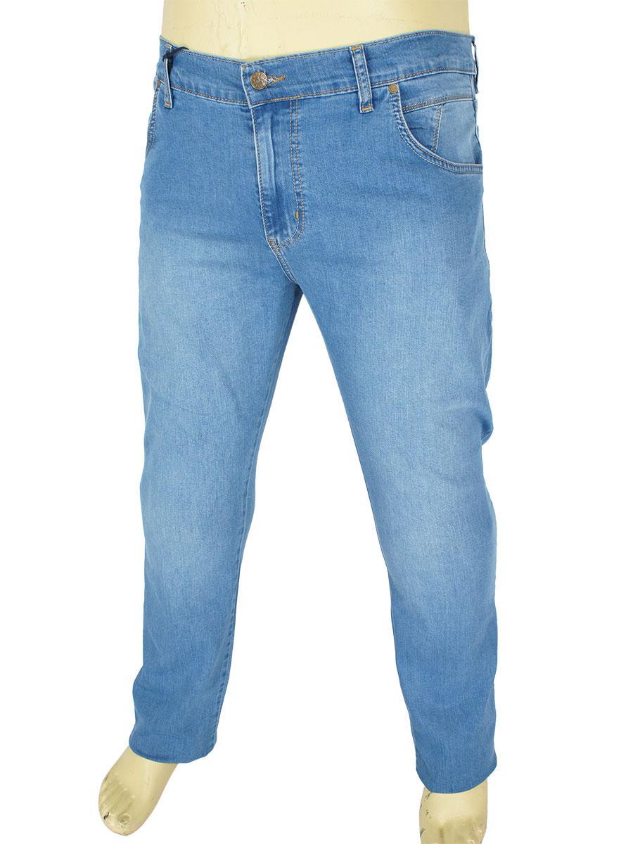 Світлі чоловічі джинси Dekons 2380 Blue у великому розмірі