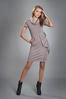 Платье женское мод №87, размеры 44-46,46-48 голубое, черное, т.серое, фото 1