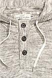 Мужской джемпер с капюшоном вязанный  h&m, фото 2
