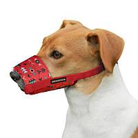 Намордник для собак  нейлоновый регулируемый в  этническом стиле, ИНКИ