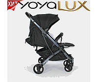 Детская прогулочная коляска YOYA LUX черная