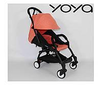 Детская прогулочная коляска YOYA 175A + ОРАНЖЕВАЯ