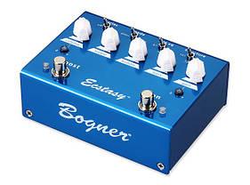Педали эффектов для электрогитар BOGNER ECSTASY BLUE Овердрайв напольный аналоговый, фото 2