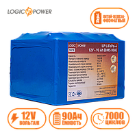 Аккумулятор для электромопеда  фосфатные  LP LiFePo-4 12V - 90 Ah