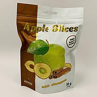 Слайсы яблочные с корицей, 50 г, Спектрумикс