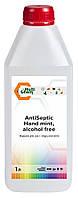 Антисептик бесспиртовый жидкий для рук с отдушкой мята AntiSeptiс Hand mint, alcohol free 1 л