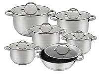 Набор кухонной посуды 12 предметов EB-2119, фото 1