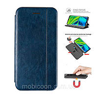 Чехол книжка Gelius для Samsung Galaxy A40 A405 синий (самсунг галакси а40)