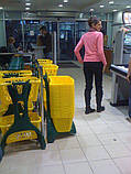 База на колесах с 2-мя покупательскими корзинами TYKO, комплект FURBO цвет, фото 7