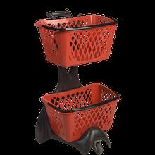 База на колесах з 2-ма купівельними кошиками TYKO, комплект FURBO колір