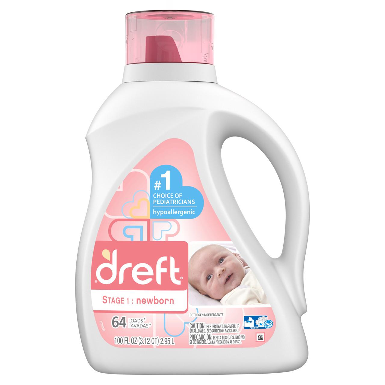 Пральний порошок для новонароджених Dreft США 2.95 л