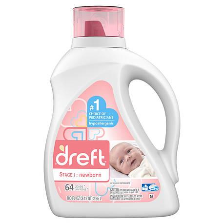 Пральний порошок для новонароджених Dreft США 2.95 л, фото 2