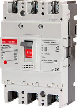 Силовий автоматичний вимикач e.industrial.ukm.250S.250, 3р, 250А