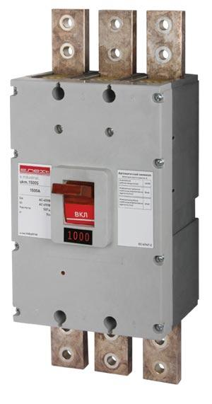 Силовий автоматичний вимикач e.industrial.ukm.1000S.1000, 3р, 1000А