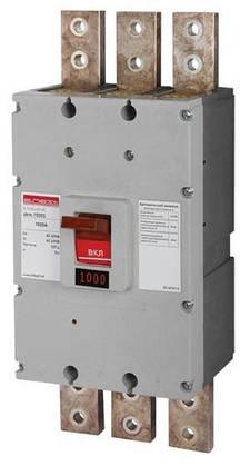 Силовий автоматичний вимикач e.industrial.ukm.1000S.1000, 3р, 1000А, фото 2