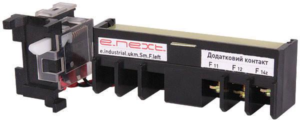 Додатковий контакт e.industrial.ukm.250Sm/250SL.F.left, лівий, фото 2