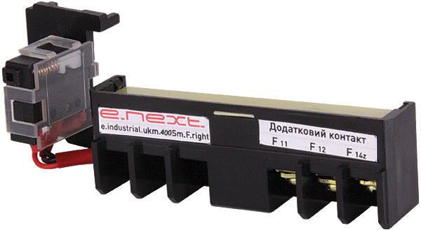Додатковий контакт e.industrial.ukm.400Sm/400SL.F.right, правий, фото 2